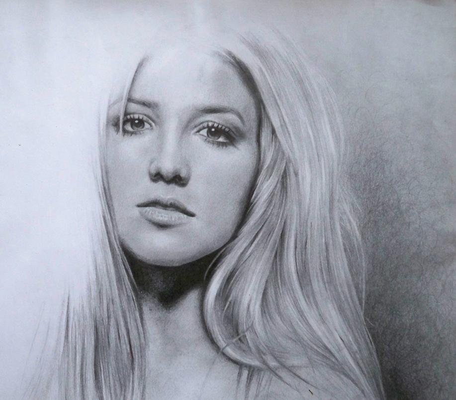 Britney Spears dans Portraits en noir et blanc Britney-Spears
